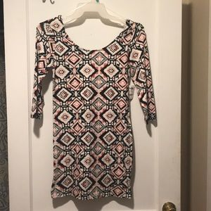 Charlotte Russe Bonfire fitted dress